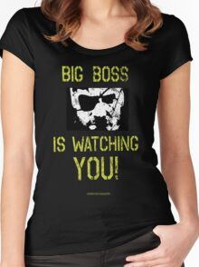 B. B. is watching you! Women's Fitted Scoop T-Shirt