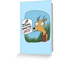 O Dear You're 40!  Greeting Card
