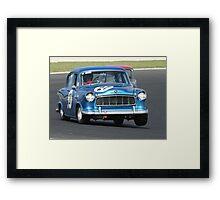 Fast Eddie Framed Print