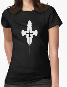 Serenity and the Swordfish Womens Fitted T-Shirt