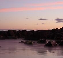 Colourful Sunset - Chain of Lagoons by nickgreenphoto