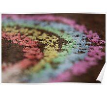 Rainbow Blur Poster