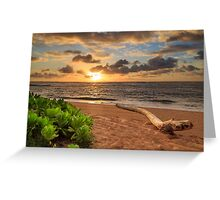 Sunrise In Kapaa Greeting Card
