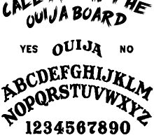 Call me on the Ouija Board by buyheartshaped