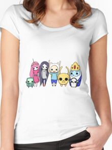 Mini Time! Women's Fitted Scoop T-Shirt