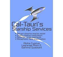 Cal-Tauri's Starship Services Photographic Print