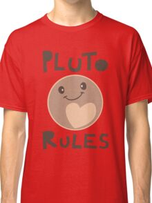Excuse Me While I Science - Pluto Rules! Classic T-Shirt