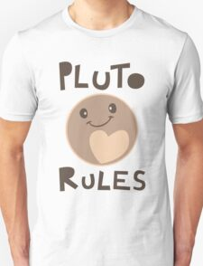 Excuse Me While I Science - Pluto Rules! Unisex T-Shirt