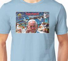 Pope Francis 2015 Philadelphia Visit-skyline background Unisex T-Shirt