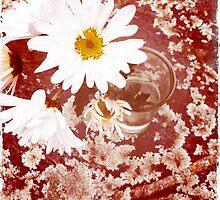 Daisy and Lichen Hand In Hand by daphsam