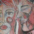 A Permanent Tear II Detail by Anthea  Slade