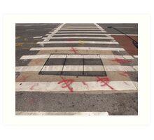 Sidewalk # 49 Art Print