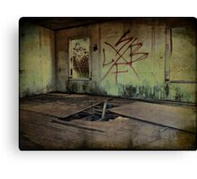 Abandoned and Forgotten Canvas Print