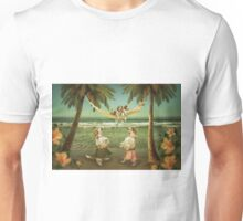Welshie pups learning to hula from the Aunties Unisex T-Shirt