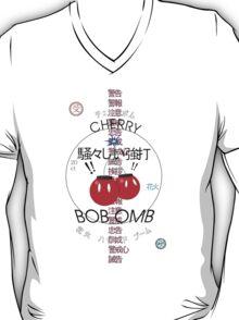 Cherry Bob Omb Transparent Version T-Shirt