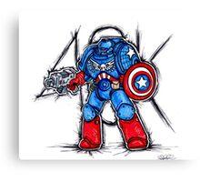 Cap'n Warhammer Canvas Print