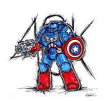 Cap'n Warhammer Photographic Print