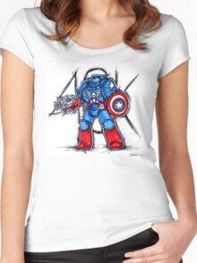 Cap'n Warhammer Women's Fitted Scoop T-Shirt