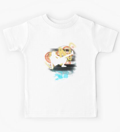 Music...ENERGY! Cool! Let's dance! Kids Tee