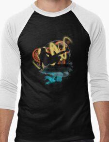 Music...ENERGY! Cool! Let's dance! Men's Baseball ¾ T-Shirt