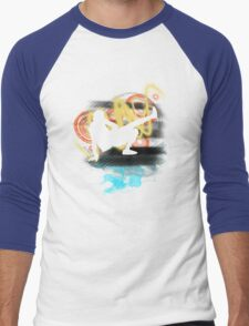 Music...ENERGY! Cool! Let's dance! Men's Baseball ¾ T-Shirt