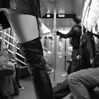 The Subway in Black & White by The Nude  Project