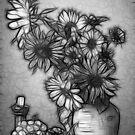 Flowers In Fractalius by VladimirFloyd