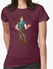 Flynn Rider Womens Fitted T-Shirt