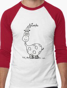 George the Giraffe  Men's Baseball ¾ T-Shirt