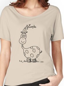 George the Giraffe  Women's Relaxed Fit T-Shirt