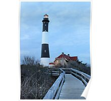 Long Island Lighthouse, Fire Island Poster