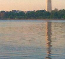 Washington Monument  Sticker
