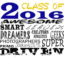 Class of 2016 Traits - Blue/Gold by MythicFX