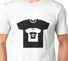 Abstract T-Shirt - shirt within a shirt Unisex T-Shirt