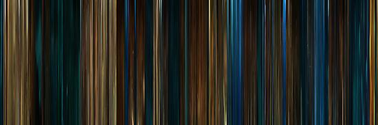 Moviebarcode: Pan's Labyrinth (2006) by moviebarcode