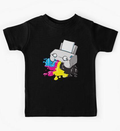 Puker Printer Kids Tee
