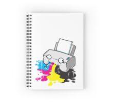 Puker Printer Spiral Notebook