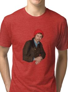 THE SAME T-SHIRT OF MICHAEL CERA EVERY DAY Tri-blend T-Shirt