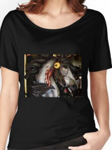 Red Feather Rides Again! Women's Relaxed Fit T-Shirt