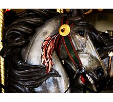 Red Feather Rides Again! Photographic Print