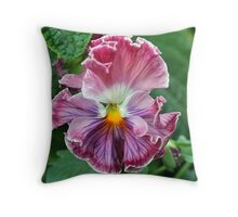 Untitled (For Now) Throw Pillow
