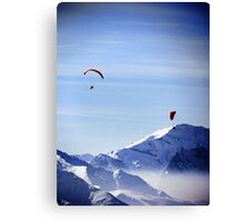 Lost in the Joy of the Mountains Canvas Print