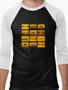 Cassettes Men's Baseball ¾ T-Shirt