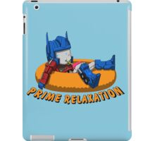 Prime Relaxation iPad Case/Skin