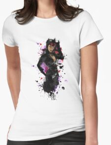 The Cat Burgler Womens Fitted T-Shirt