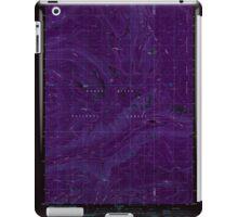 USGS Topo Map Oregon Red Blanket Mountain 281236 1985 24000 Inverted iPad Case/Skin