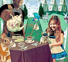 Mad Hatter's Tea Party by eelsblueEllen