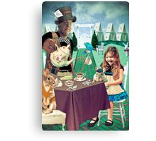 Mad Hatter's Tea Party Canvas Print