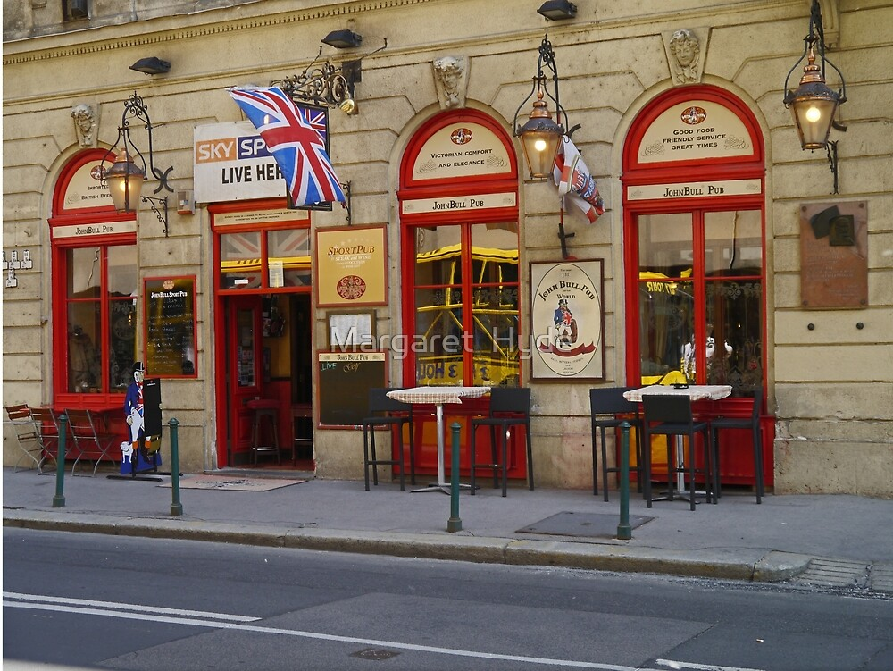 John Bull Pub, Budapest, Hungary by Margaret  Hyde