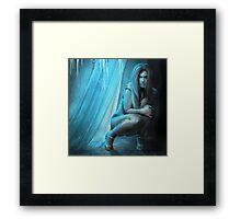 Embracing eternal cold Framed Print